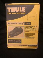 Thule Fat Mouth Clamp Fm-1 Never Used Open Box 2 Clamps