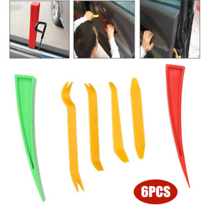6PCS Car Door Window Enlarger Wedge Repair Tool Body Dent Panel Paint Auxiliary
