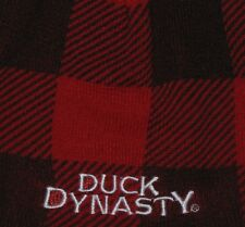 Duck Dynasty Adult Beanie Winter Hat Tuque Red & Black A&E One Size