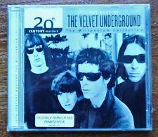 THE VELVET UNDERGROUND CD Best of  (20th Century Masters) Neuf, sous blister