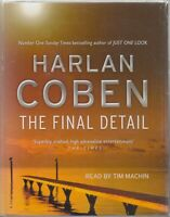 The Final Detail Harlan Coben 4 Cassette Audio Book Crime Thriller FASTPOST