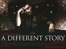 A Different Story George Michael poster UK promo 40X30 AEGEAN 2005 Rare