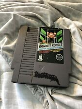 Nintendo NES Game - Donkey Kong 3 Arcade Classics.