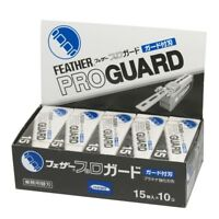 Feather Artist Club Pro Guard blade PG-15 10 packs 150 blades F/S JP New