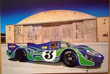 1970 Porsche 917 LH Extremely Rare Car Poster! WOW!