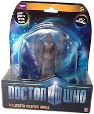Doctor Who Projected Weeping Angel Action poseable Figure 5inch Dr 2010 NEW