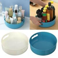 Multi-Function Rotating Tray/Kitchen Organizer/Cosmetics Kitchen Bathroom F8G4