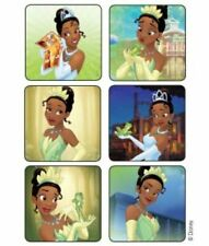 25 Princess and Frog Tiana STICKERS Party Favors Supplies Birthday Treat Bags
