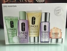 Clinique Daily Essentials Set (dry Combination) All About Eyes 15ml Liquid so