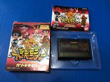 Bandai Digimon Game For WonderSwan Color Season 1 Cartridge W/Box & Instructions
