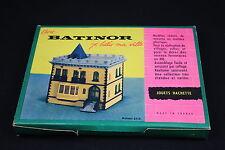 W531 HACHETTE BATINOR Train MaquetteHo 55/b Maison plastique decor diorama
