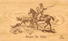 1952 Cowboy Western Outdoor Artist Studio Evan Soward San Leandro California