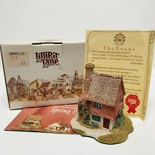 Lilliput Lane Primrose Hill 1991 Collectable Cottage wth Deed&Box Handmade in Uk