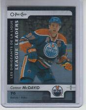 17/18 OPC Edmonton Oilers Connor McDavid Black Rainbow LL card #599 Ltd #2/100