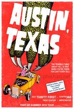Phish Austin Tx 2018 poster