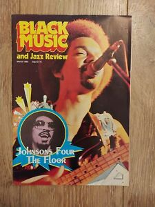 BLACK MUSIC & JAZZ REVIEW MARCH 1980 BROTHERS JOHNSON RICHARD PRYOR OSIBISA
