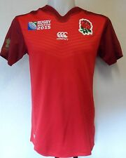 ENGLAND RWC 2015 BOYS ALT PRO SHIRT BY CANTERBURY SIZE 10 YEARS  BRAND NEW