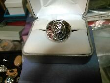 Mens  kokopelli 925 size 12 18 mm Beauitful ring long lasting stylish 10 grams