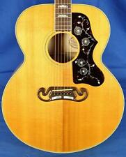 1993 Gibson USA J200 J-200 Highly Flamed Acoustic Guitar w/OHSC Natural