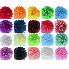 Hanging Tissue Paper Pompoms Pom Poms balls for Wedding Party Venue Decorations
