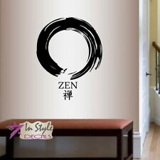 Wall Vinyl Decal Zen Yoga Meditation Buddha Art Sticker Mural Decor 1727