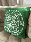 Limited Celtic FC Crest Heritage Cushion - Football Sports Merchandise Pillow