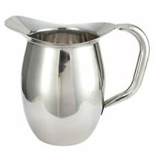 Winco Stainless Steel Heavy Weight Deluxe Bell Pitcher, 3 Quart -- 1 each.