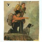 Vintage CARRY ON Norman Rockwell NRA Lithograph Print 1930s 1940s RARE Boys Life