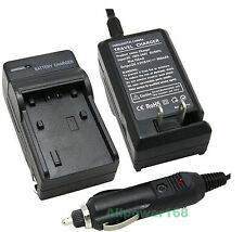 NP-FV50 NP-FV70 Battery Fast charger for sony DCR-SX41 DCR-SX41R DCR-SX44L + Car