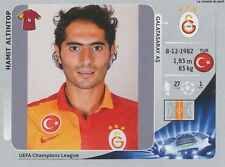 N°560 HAMIT ALTINTOP TURKEY SK.GALATASARAY CHAMPIONS LEAGUE 2013 STICKER PANINI