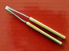PYROGRAPHY TOOL PEN: FLAT SHADER - 3 mm SUPER LONG BRASS SHANKS
