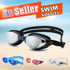 Adult Adjustable Swimming Glasses Swim Goggles Waterproof Anti-Fog UV
