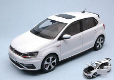 Volkswagen VW New Polo Gti 2015 White 1:18 Model PAUDI MODEL