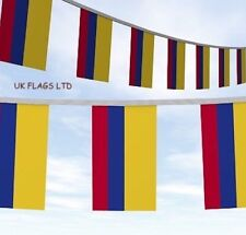10 METRE COLOMBIA COLUMBIA FLAG BUNTING RUSSIA WORLD CUP Bandera de Colombia
