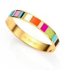 Kate Spade For The Fun of It Bracelet Colorful Blocks Striped NWT NEW!