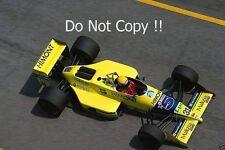 Roberto Moreno Coloni FC188B Brazilian Grand Prix 1989 Photograph 3