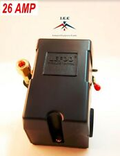 PRESSURE SWITCH CONTROL AIR COMPRESSOR 90-125 4 PORT HEAVY DUTY 26 AMP