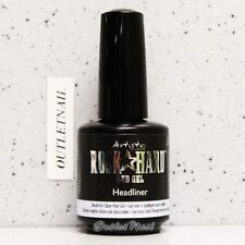 Artistic Nail Design Rock Hard LED Gel - HEADLINER #02205 Brush-On Clear Nail
