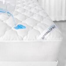 Waterproof Mattress Protector Soft Mattress Cover Pad Absorbent Topper Queen