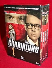 THE CHAMPIONS Set 1 DVD BOX SET British 60s SCI FI Granada DR WHO The Saint