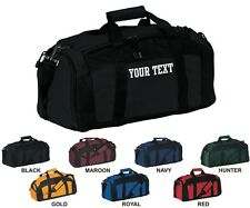 Gym Duffle Duffel Bag BG970 Custom Personalized Your Text Travel Sports Luggage