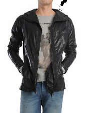 DIESEL BLACK GOLD JENNARIO BLACK JACKET SIZE S 100% AUTHENTIC
