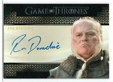RON DONACHIE as Rodrik Cassel / Game Thrones INFLEXIONS Trading Card Autograph
