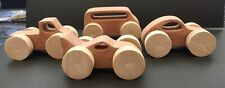 Wooden Toy Cars Set Of 4