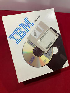 """New! PC DOS 6.3 software by IBM 5 x 3.5"""" discs and manual. Open box"""