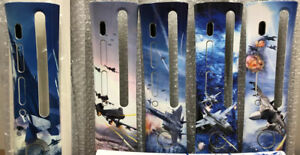 Xbox 360 Faceplate Ace Combat 6 COMPLETE Collection *ULTRA RARE*