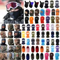 Men Women Face Mask Balaclava Cycling Motorcycle Biker Ski Snowboard Fleece Neck