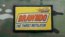 BRAWNDO The Thirst Mutilator! Collectable Morale Patch Idiocracy
