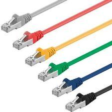 10 Piece 1m CAT5e Cable F/UTP Patch Cable Lan Network Ethernet Gigabit RJ45 10x