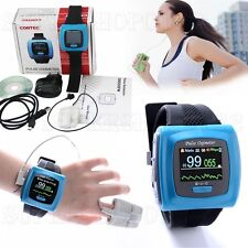 Wrist Pulse Oximeter,Spo2 Monitor Daily And Overnight Sleep Wearable CMS50F SW